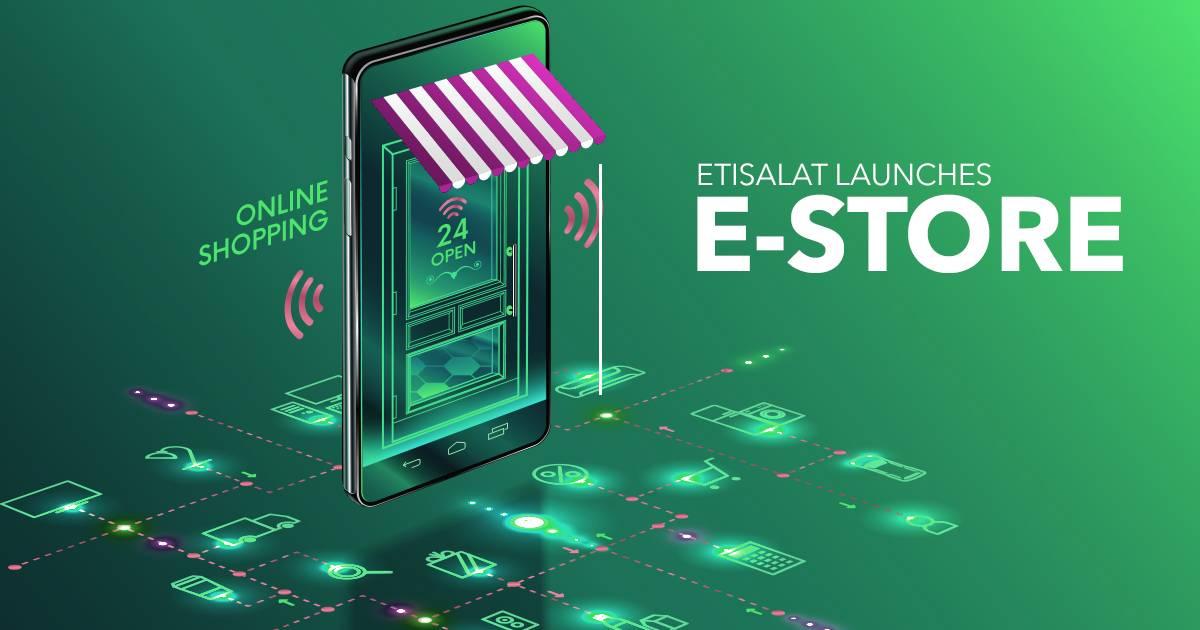 Etisalat e Shopping website
