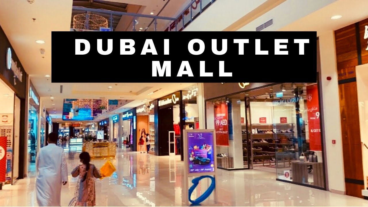 How to go to the Dubai outlet mall