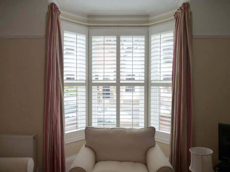 Curtains with Shutters